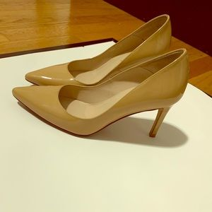 Lk Bennett London nude shoes